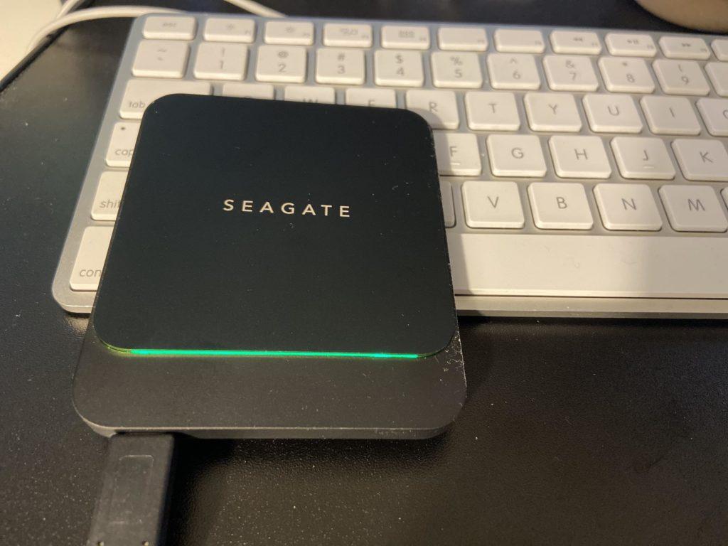 外付けSSDのサイズ