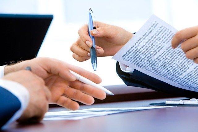 売買契約、工事契約の締結